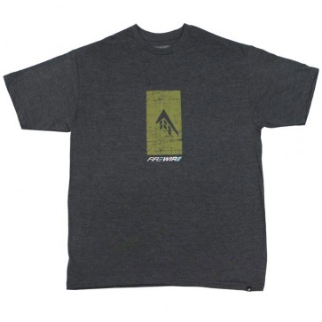 Firewire Surfboards Silhouette T-Shirt - Charcoal Heather