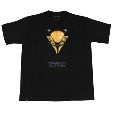 Firewire Surfboards Tomo Solar Flare T-Shirt - Black