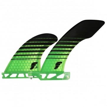 Futures Fins - Hatchet 2+1 - Green/Black