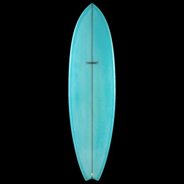 Global Surf Industries - 7'4'' Modern Blackfish Surfboard - Blue
