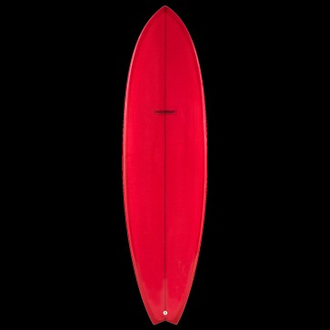 Global Surf Industries - 7'4'' Modern Blackfish Surfboard - Red