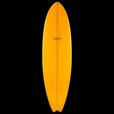 Global Surf Industries - 7'4'' Modern Blackfish Surfboard - Tangerine