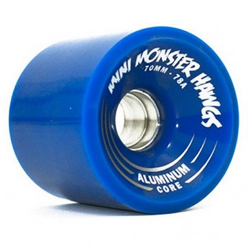 Landyachtz 70mm Turbo Mini Monster Hawgs - Blue