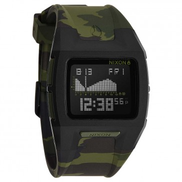 Nixon Watches - The Lodown II - Black/Green Camo