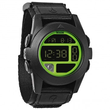 Nixon Watches - The Baja - Black/Neon Green