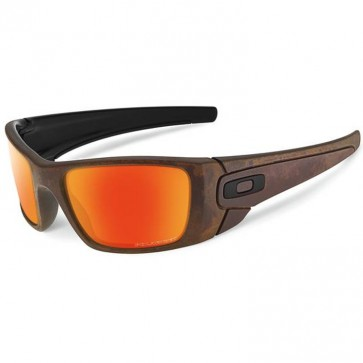 Oakley Fuel Cell Fall Out Polarized Sunglasses - Rust Decay/Fire
