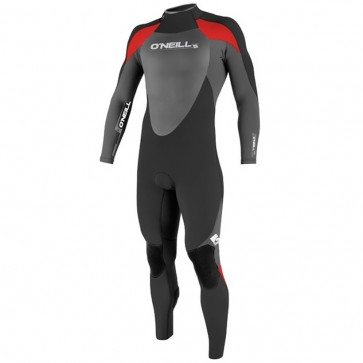 O'Neill Youth Epic II 4/3 Wetsuit - Black/Graphite/Red