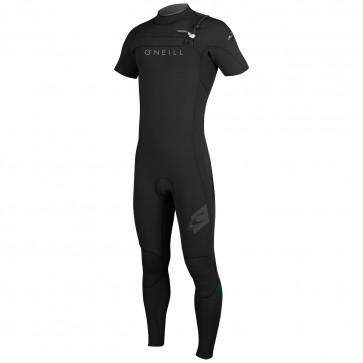 O'Neill HyperFreak 2mm Short Sleeve Full Wetsuit - Black