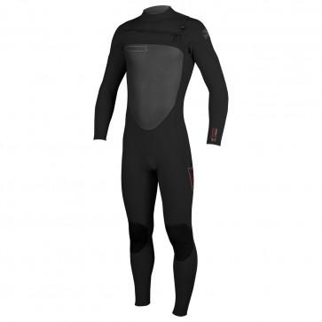 O'Neill SuperFreak 3/2 Chest Zip Wetsuit - Black