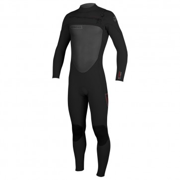 O'Neill SuperFreak 4/3 Chest Zip Wetsuit - Black