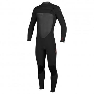 O'Neill SuperFreak 4/3 Chest Zip Wetsuit - Black