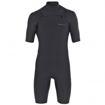Patagonia R1 Chest Zip Spring Wetsuit - Black