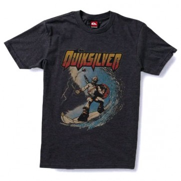 Quiksilver Youth Beast T - Charcoal
