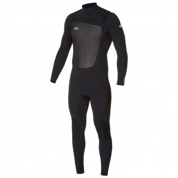 Quiksilver Syncro 3/2 Chest Zip Wetsuit - Black