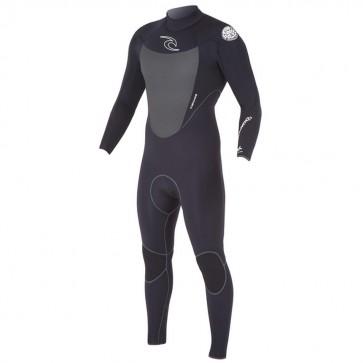 Rip Curl Dawn Patrol Plus 4/3 Wetsuit - Black