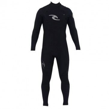 Rip Curl E-Bomb Pro 3/2 Chest Zip Wetsuit - Black