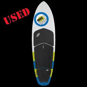 Boardworks Surf - USED 9'1 Mini Mod SUP - White/Green/Blue
