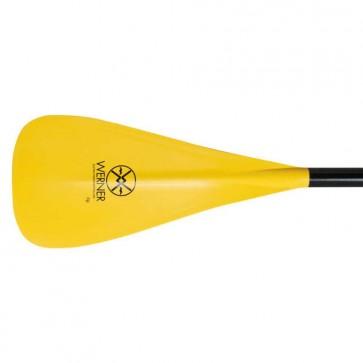 Werner Paddles - Fiji Uncut 1pc SUP Paddle - Yellow