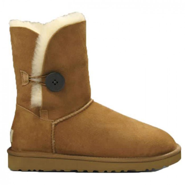 ugg bailey button boots chestnut