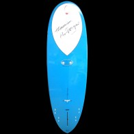 Epoxy Flyer Surfboards - 5'10'' Donald Takayama Scorpion - Grey/Blue