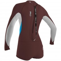 O'Neill Women's Bahia 2/1 Long Sleeve Short Spring Wetsuit