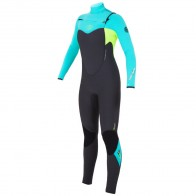 Rip Curl Women's Flash Bomb 4/3 Chest Zip Wetsuit