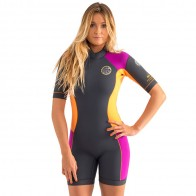 Rip Curl Women's Dawn Patrol Short Sleeve Spring Wetsuit