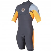 Rip Curl E-Bomb Pro Short Sleeve Zip Free Spring Wetsuit