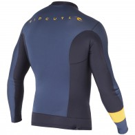 Rip Curl Wetsuits Aggrolite 1.5mm Long Sleeve Jacket - Slate Grey