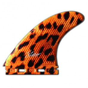 3D Fins - Tri Large 7.0 Full Base - Leopard