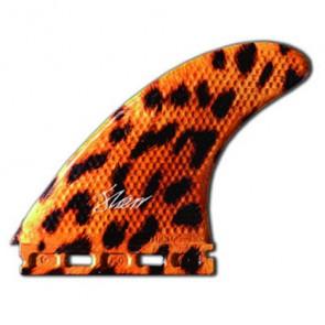 3D Fins - Tri Large 7.0 Full Base - Leopard