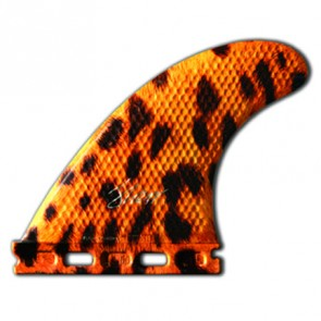 3D Fins - Tri Medium 5.0 Full Base - Leopard