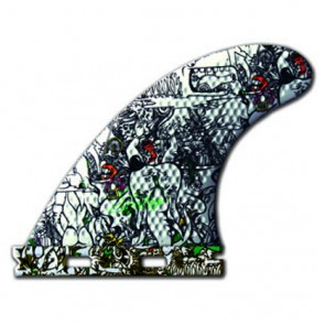 3D Fins - Tri Small Full Base - Elephant Girl