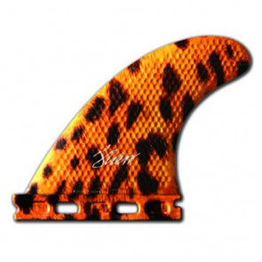 3D Fins - Tri Small Full Base - Leopard