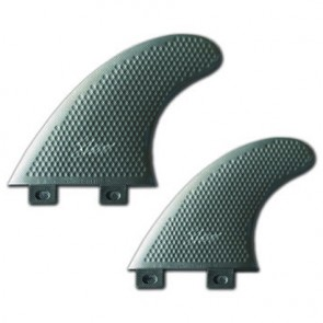 3D Fins - Quad Medium 5.0 Twin Tab - Platinum