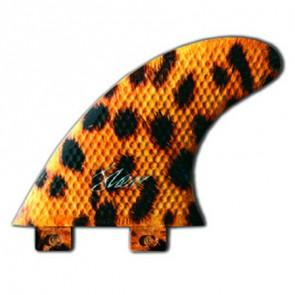 3D Fins - Tri Small Twin Tab - Leopard