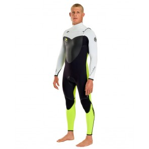Rip Curl Flash Bomb 3/2 Chest Zip Wetsuit - 2012/2013