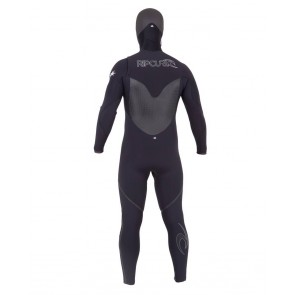 Rip Curl Flash Bomb 6/4 Hooded Chest Zip Wetsuit