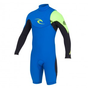 Rip Curl E-Bomb Pro Long Sleeve Zip Free Spring Wetsuit - 2014