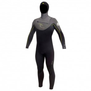 Rip Curl E-Bomb 5.5/4.5 Hooded Chest Zip Wetsuit - 2012/2013