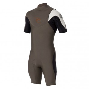 Rip Curl E-Bomb Pro Short Sleeve Zip Free Spring Wetsuit - 2014