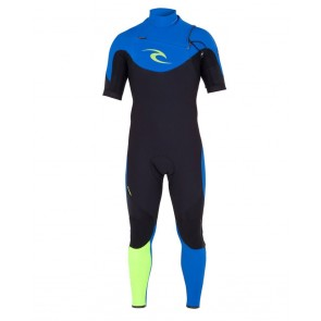 Rip Curl E-Bomb Pro 2mm S/S Chest Zip Wetsuit - 2013/2014