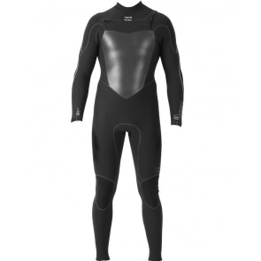 Billabong Xero 3mm Furnace Chest Zip Wetsuit - Black
