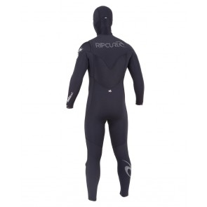 Rip Curl E-Bomb 4.5/3.5 Hooded Chest Zip Wetsuit - 2014