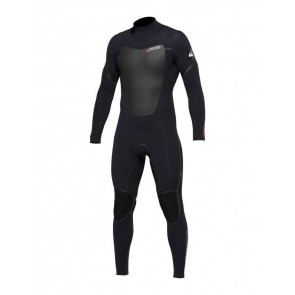 Quiksilver Pyre 4/3 Back Zip Wetsuit - Black