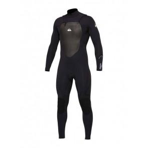 Quiksilver Syncro 3/2 Chest Zip Wetsuit - Black