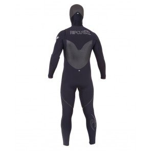 Rip Curl Flash Bomb 5/4 Hooded Chest Zip Wetsuit - 2013/2014
