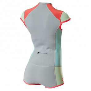 Roxy Women's Syncro 1mm Booty Cut Short John Wetsuit