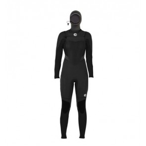 Billabong Women's Synergy 5/4 Hooded Chest Zip Wetsuit