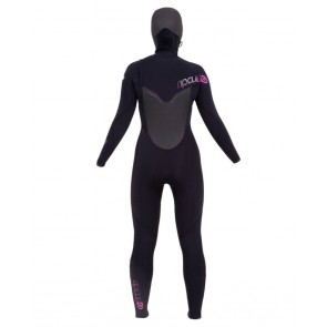 Rip Curl Women's Flash Bomb 5/4 Hooded Chest Zip Wetsuit